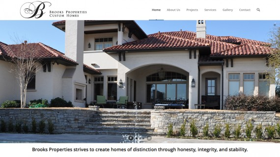Fort Worth Custom Home Builder Website