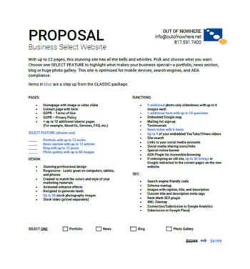 Thumbnail - Business Select Package